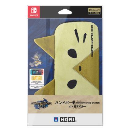 【新品】モンスターハンターライズ ハンドポーチ for Nintendo Switch オトモアイルー