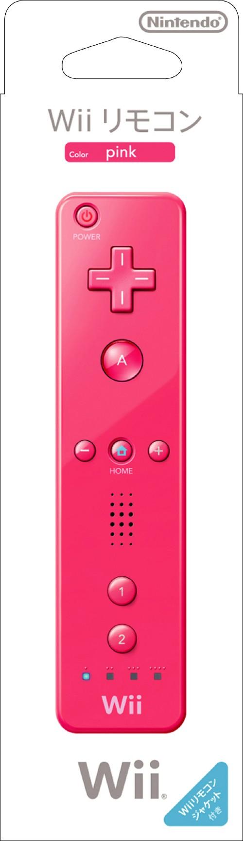 【中古】Wiiリモコン (ピンク)