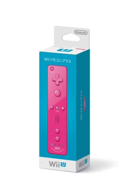 【中古】Wiiリモコンプラス (ピンク)