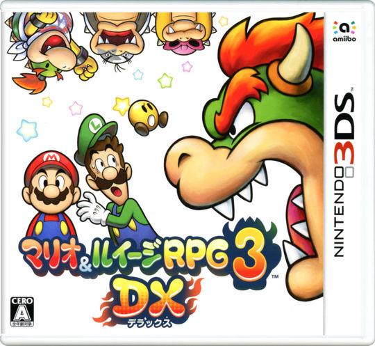 【新品】マリオ&ルイージRPG3 DX