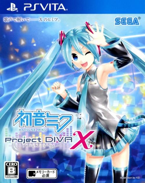 【中古】初音ミク −Project DIVA− X