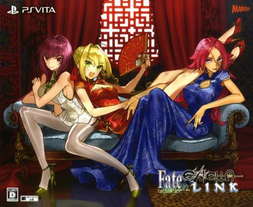 【新品】【ゲオ限定】プレミアム限定版 Fate/EXTELLA LINK for PlayStation Vita+スチールブック (限定版)
