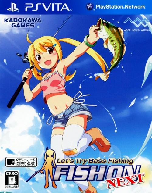 【中古】Let's try Bass Fishing FISH ON NEXT