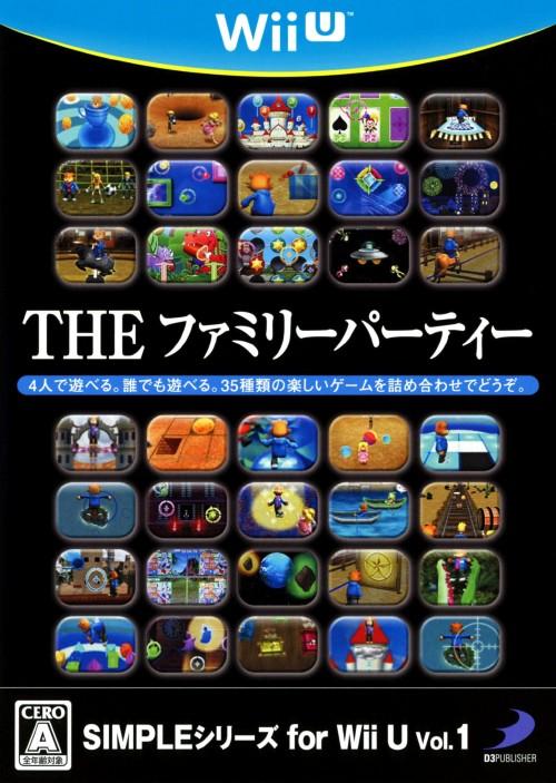 【中古】THE ファミリーパーティー SIMPLEシリーズ for Wii U Vol.1