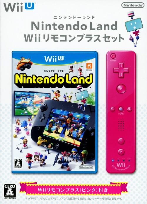 【中古】Nintendo Land Wiiリモコンプラスセット ピンク (同梱版)