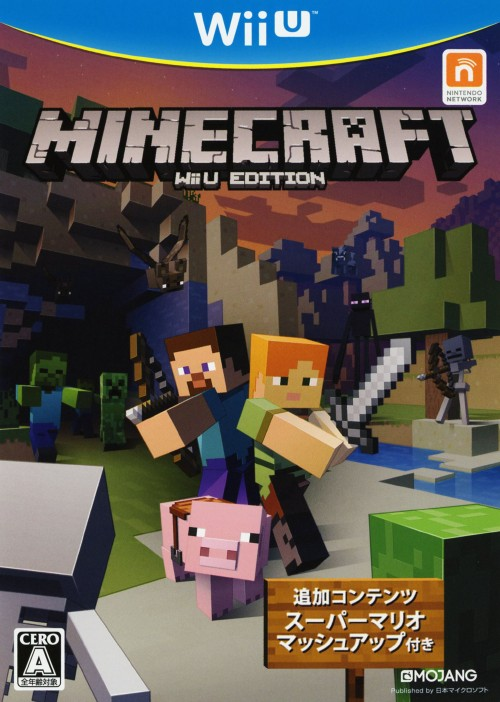 【中古】MINECRAFT: Wii U EDITION