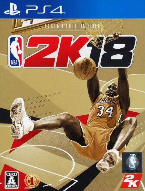 【中古】NBA 2K18 レジェンド エディション ゴールド (限定版)
