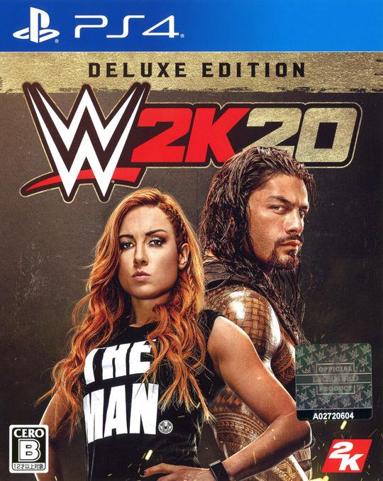 【新品】【ゲオ専売】WWE 2K20 Deluxe Edition(英語版)