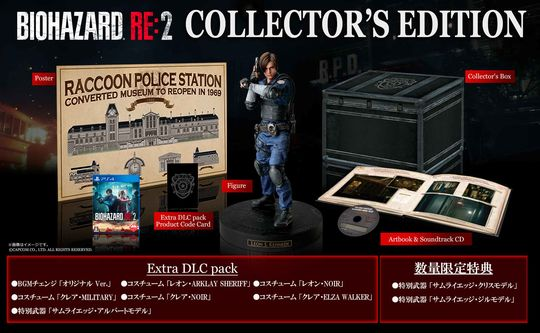 【中古】BIOHAZARD RE:2 COLLECTOR'S EDITION (限定版)