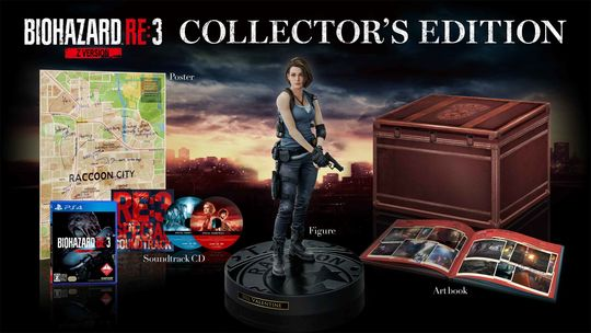 【新品】【18歳以上対象】BIOHAZARD RE:3 Z Version COLLECTOR'S EDITION (限定版)