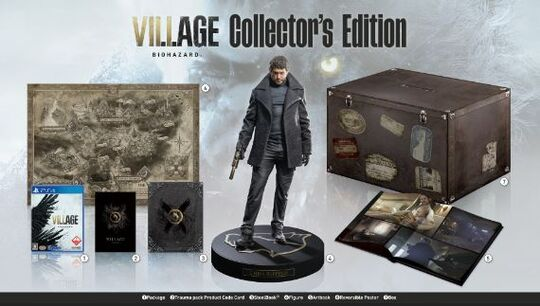 【新品】BIOHAZARD VILLAGE COLLECTOR'S EDITION (限定版)