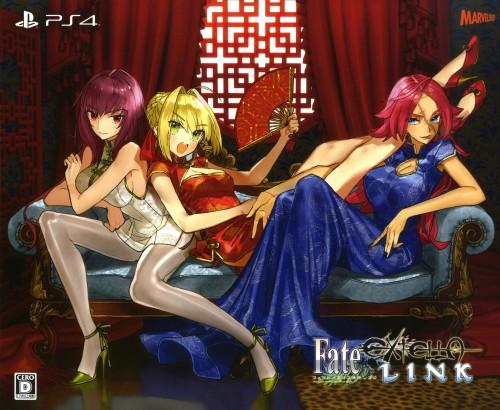 【中古】プレミアム限定版 Fate/EXTELLA LINK for PlayStation4 (限定版)