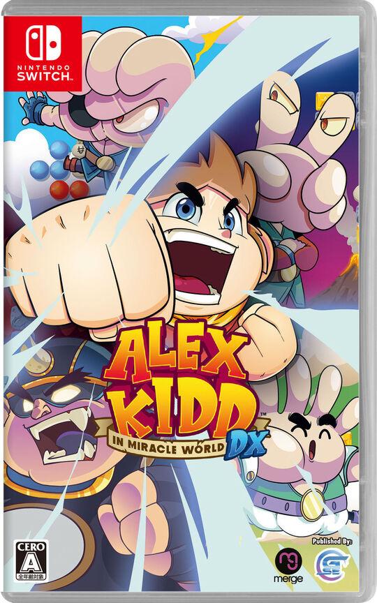 【新品】Alex Kidd in Miracle World DX