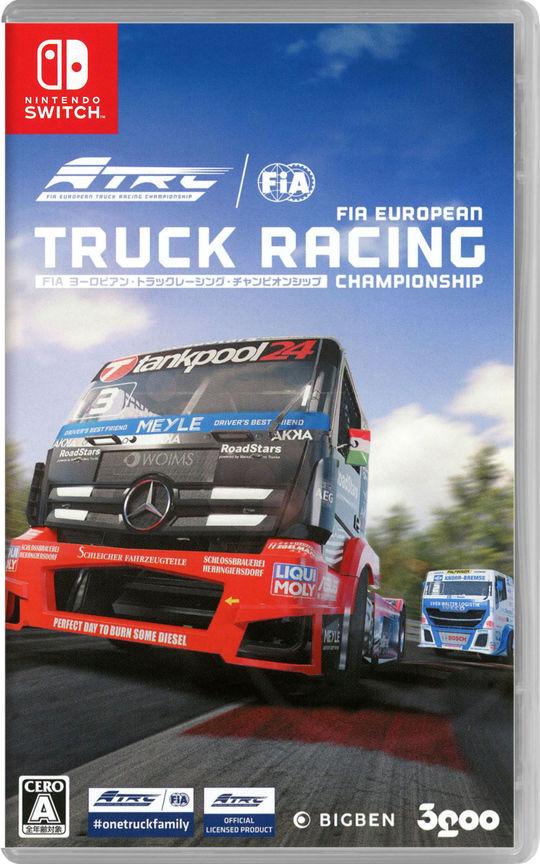 【新品】FIA ヨーロピアン・トラックレーシング・チャンピオンシップ