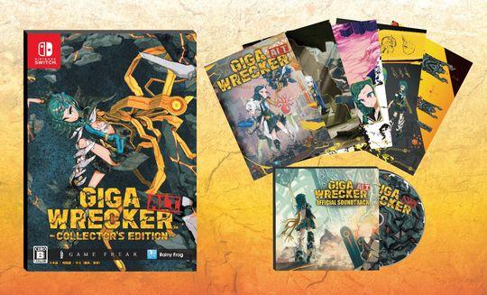 【新品】GIGA WRECKER ALT. コレクターズエディション (限定版)