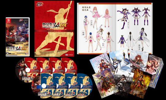 【新品】戦国無双4 DX 15周年記念 BOX (限定版)