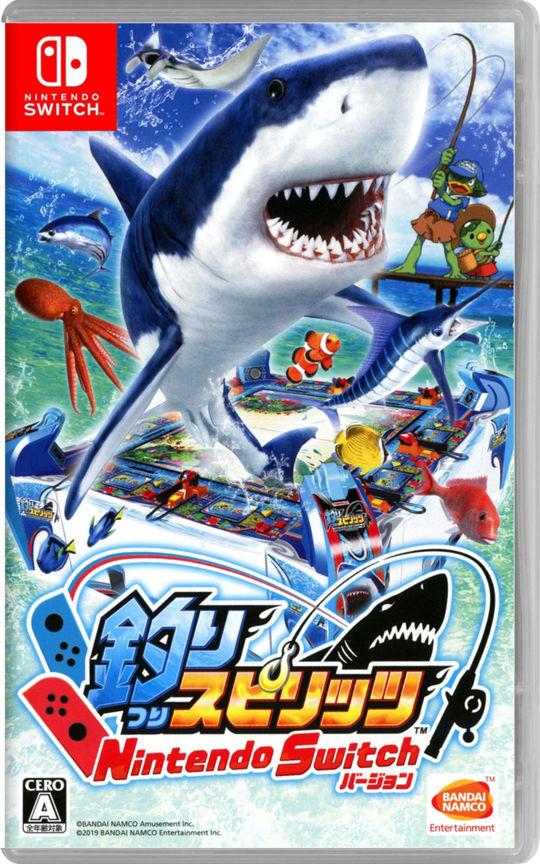 【中古】釣りスピリッツ Nintendo Switchバージョン