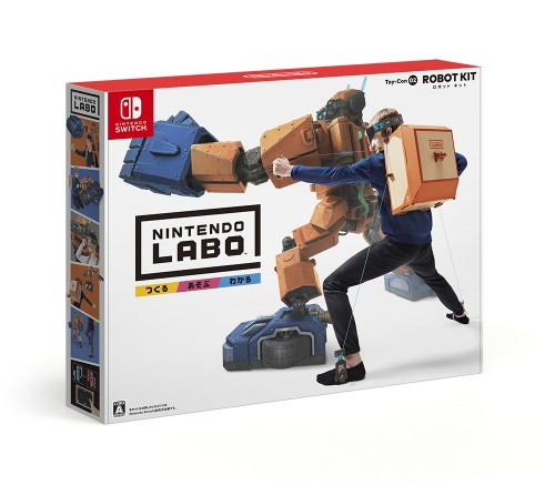 【中古】Nintendo Labo Toy−Con 02: Robot Kit