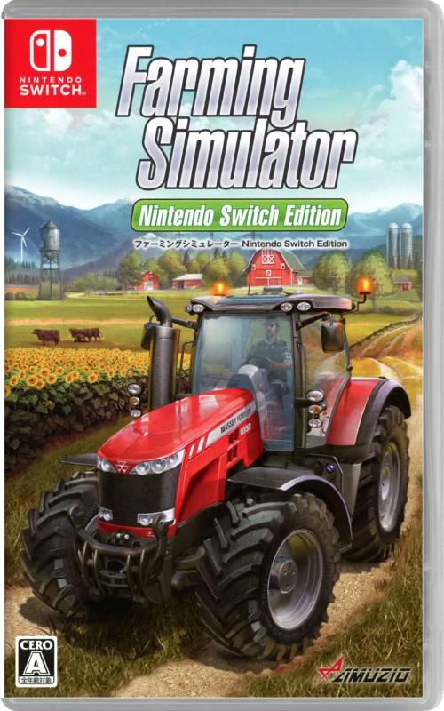 【中古】ファーミングシミュレーター Nintendo Switch Edition