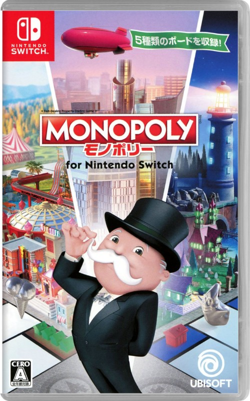 【中古】モノポリー for Nintendo Switch