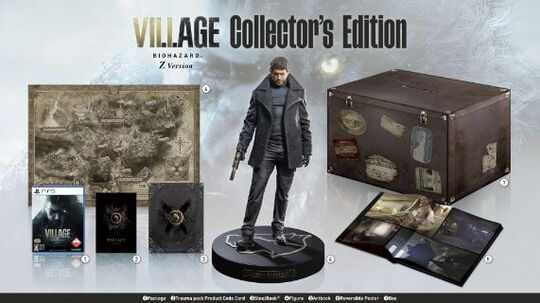 【新品】【18歳以上対象】BIOHAZARD VILLAGE Z Version COLLECTOR'S EDITION (限定版)