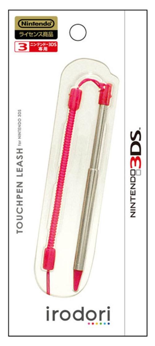 【新品】3DS用 タッチペンリーシュ for ニンテンドー3DS ピンク