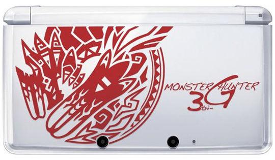 【中古・箱説なし・付属品なし・傷あり】MONSTER HUNTER 3(tri)G スペシャルパック (ソフトの付属は無し)
