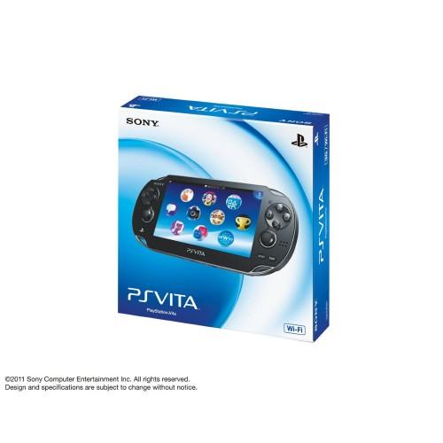 【中古・箱無・説明書無】PlayStation Vita Wi−Fiモデル PCH−1000ZA01 クリスタル・ブラック