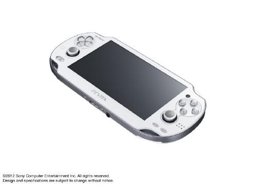 【中古】PlayStation Vita 3G/Wi−Fiモデル PCH−1100AB02 クリスタル・ホワイト (限定版)
