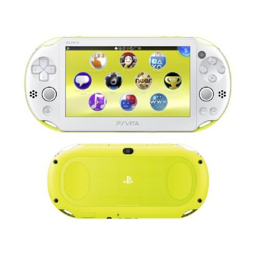 【中古】PlayStation Vita Wi−Fiモデル PCH−2000ZA13 ライムグリーン/ホワイト