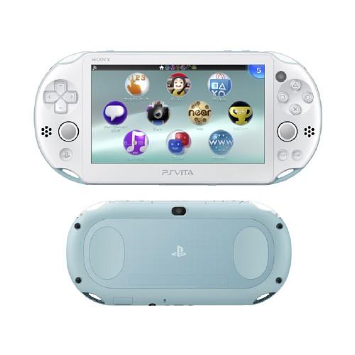 【中古】PlayStation Vita Wi−Fiモデル PCH−2000ZA14 ライトブルー/ホワイト