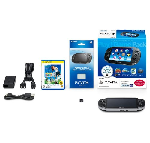 【中古】PlayStation Vita 3G/Wi−Fiモデル Play!Game Pack (同梱版)