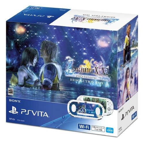 【中古】PlayStation Vita FINAL FANTASY10/10−2 HD Remaster RESOLUTION BOX (同梱版)