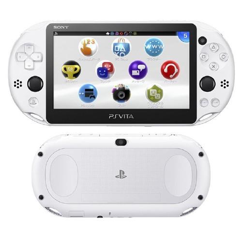 【新品】PlayStation Vita Wi−Fiモデル PCH−2000ZA22 グレイシャー・ホワイト