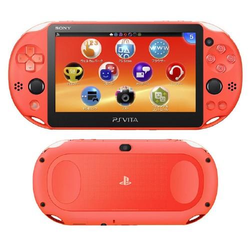 【中古】PlayStation Vita Wi−Fiモデル PCH−2000ZA24 ネオン・オレンジ