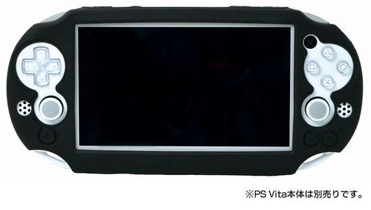 【新品】PCH−2000用 Newシリコンカバー for PlayStation Vita ブラック