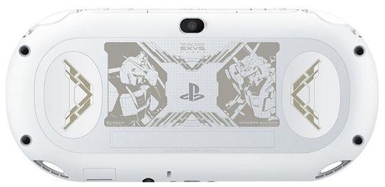 【中古・箱説なし・付属品なし・傷あり】PlayStation Vita × 機動戦士ガンダム EXTREME VS−FORCE PREMIUM BOX グレイシャー・ホワイト (限定同梱版)