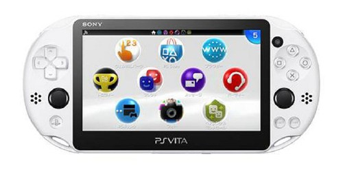 【中古】PlayStation Vita Starter Kit グレイシャー・ホワイト