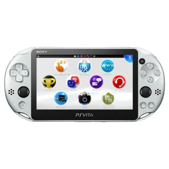 【新品】PlayStation Vita Wi−Fiモデル PCH−2000ZA25 シルバー