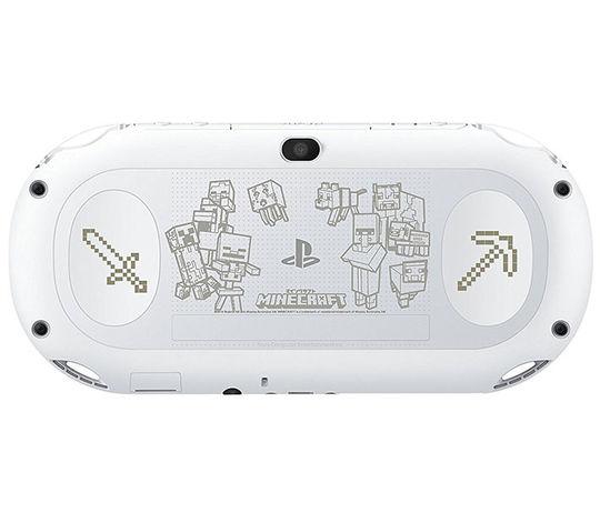 【中古・箱説なし・付属品なし・傷あり】PlayStation Vita Minecraft Special Edition Bundle PCH−2000ZA/MC2 (ソフトの付属は無し)