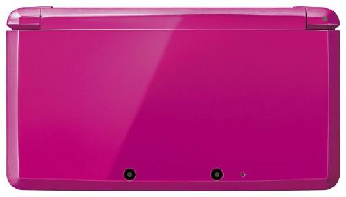 【中古・箱説なし・付属品なし・傷あり】ニンテンドー3DS グロスピンク