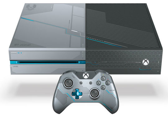 【中古・箱説あり・付属品あり・傷なし】Xbox One 1TB『Halo5: Guardians』リミテッド エディション (限定版)