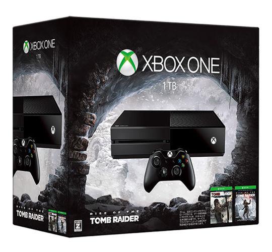 【中古】【18歳以上対象】Xbox One 1TB(Rise of the Tomb Raider 同梱版) (限定版)