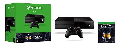 【中古・箱無・説明書有】Xbox One 500GB (Halo: The Master Chief Collection 同梱版) (新)