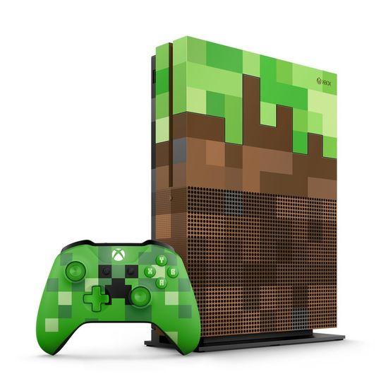 【箱説なし・付属品なし・傷なし】Xbox One S 1TB Minecraft リミテッド エディション