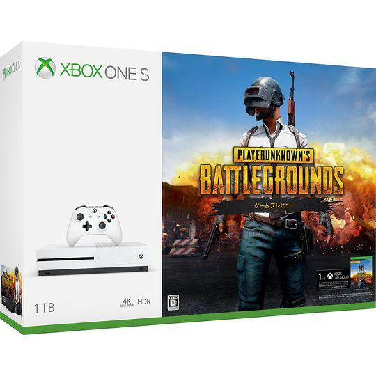 【中古・箱説あり・付属品あり・傷なし】Xbox One S 1TB (PlayerUnknown's Battlegrounds 同梱版)