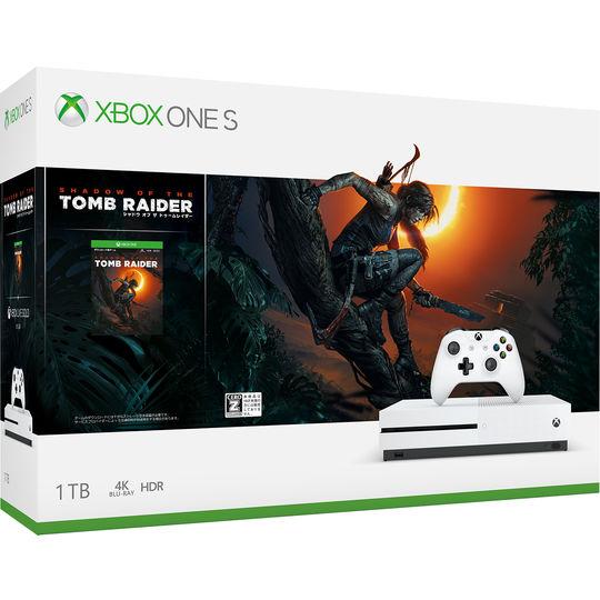 【中古・箱説あり・付属品あり・傷なし】【18歳以上対象】Xbox One S 1TB (シャドウ オブ ザ トゥームレイダー同梱版)