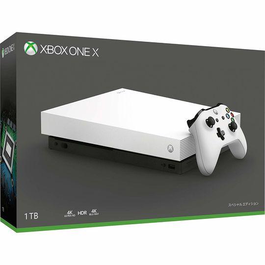 【中古・箱説あり・付属品あり・傷なし】Xbox One X ホワイトスペシャルエディション