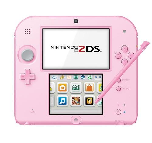 【箱説あり・付属品あり・傷なし】ニンテンドー2DS ピンク