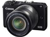 【中古】【安心保証】 CANON ミラーレスデジタルカメラ EOS M2 EF-M18-55 IS STM レンズキット